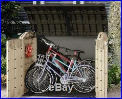 Garden Storage Box Outdoor Large Cabinet Deck Container Patio Shed Organizer Bin
