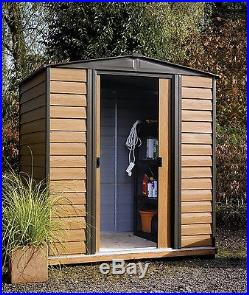 Garden Storage Shed Large Outdoor Metal Store Building Organizer Patio Container