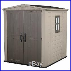 Garden Storage Shed Plastic Outdoor Keter Store Box Out Patio Large Tools Unit A