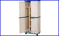 Garden Storage Unit Home Furniture Cabinet Modern Large Box Outdoor Patio Big