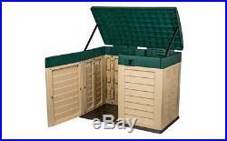 Garden Storage Unit Home Furniture Cabinet Solution Large Modern Big Box Outdoor