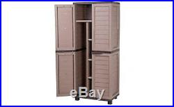 Garden Storage Unit Modern Large Box Home Furniture Solution Cabinet Outdoor Big