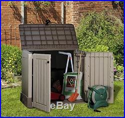 Garden Stotage Box Chest Patio Large Weather Waterproof All Purpose Outdoor Shed
