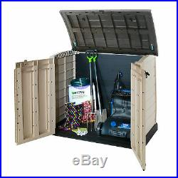 Gardens Storage Shed Bin Box Extra Large Container Bikes Lawn