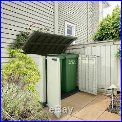 Gardens Storage Shed Bin Box Extra Large Container Bikes Lawn Mower NEW STOCK