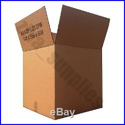 HEAVY DUTY CARDBOARD BOXES Large Strong Square Storage Containers Packaging X