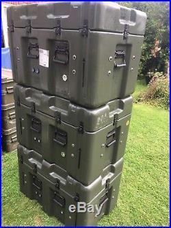 Hardigg Military Large Flight Transportation Case Shipping Storage Box Peli