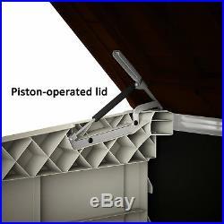 Heavy Duty Large Secure Outdoor Garden Wheelie Bin Storage Box Furniture Shed