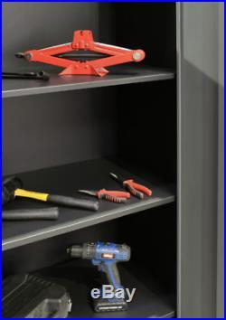 Hilka Large Garage/Workshop Metal Storage Cupboard/Tool Box Cabinet/Wall Chest