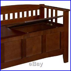Hope Chest Storage Treasure Box With Seat Bedroom Blanket Large Wooden