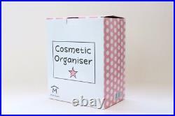 JOB LOT LARGE COSMETIC ORGANISER CLEAR ACRYLIC MAKEUP DRAWER BOX STORAGE x 10
