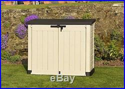 Keter Garden Storage Box Plastic Outdoor Shed Large Furniture & Bin Protection