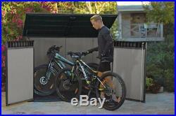 Keter Grande Store XXL Garden Storage Bike Wheelie Bin Outdoor Large Box Shed