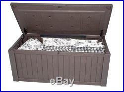 Keter Jumbo Plastic Garden Storage Box 570 Litre Capacity