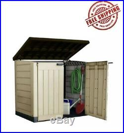 Keter Large Upright Garden Storage Box 1200L Tools Wheely BinNEXT DAY DELIVERY