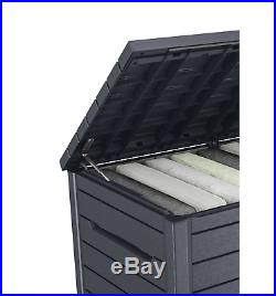 Keter Outdoor 870L Garden Patio Storage Box, Container Large Mini Shed Unit New