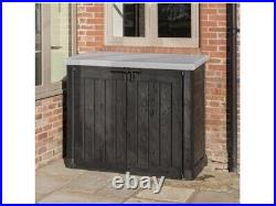 Keter Store Hideaway large outdoor storage box 1200 litre capacity Shed