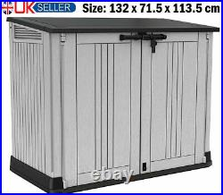 Keter Store It Out Max Garden Lockable Storage Box Xl Shed Outside Bikebin Tool
