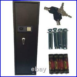 Ktaxon Electronic 5 Rifle Gun Safe Firearms Shotgun Storage Cabinet Lock Box