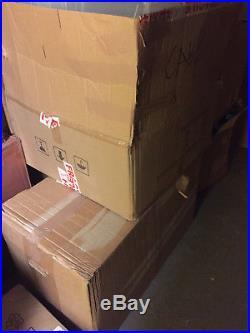 LARGE Job lot x48 Clear Plastic Part Bins Home Garage Warehouse
