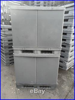 Large Plastic Pallet Box Storage Container 1 Tonne