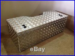 Large 400mm deep Alloy storage tool box quad agricultural quad rack