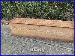 Large Bench/Chest/ Blanket Box antique Shoe Storage Hallway