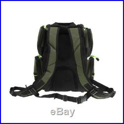 Large Capacity Fishing Tackle Bag Storage Backpack with 4 Tackle Box Unisex