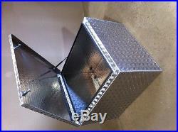 Large Defender alloy tub storage box Land Rover 90 110 4x4