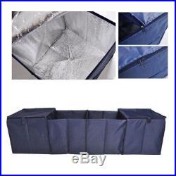 Large Foldable Car Van Carpet Boot Storage Bag Organiser Travel Tidy Box Camping