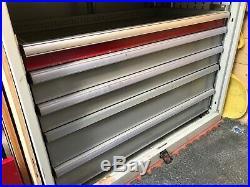 Large Garage storage cabinet shelves cupboard drawers tool box metal unit filing