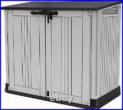 Large Keter Store NOVA Garden Lockable Storage Box XL Shed Outside Bike Bin Tool