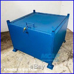 Large Lockable Site Stillage (Storage Box) Made in the UK