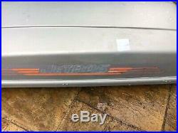 Large Long Jetbag German Car Roof Box Storage 50kg Max Load 330l Key Grey Silver