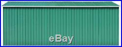 Large Metal Shed Kit Heavy Duty Garden Lawn Mower Tool Bike Outdoor Storage Box