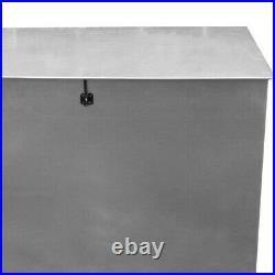 Large Metal Steel Galvanised Feed Grain Storage Bin Box