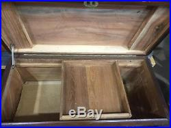 Large Oriental Camphor Box Asian Storage Box Blanket Box