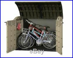 Large Outdoor Storage Box Garden Patio Ultra Bin Bike DIY Tools Utility Shed