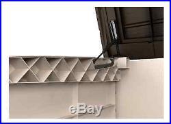 Large Outdoor Storage Box Versatile Waterproof Shed Bin Patio Furniture Winter