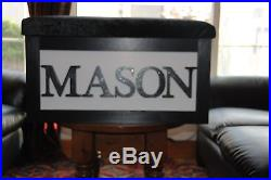 Large Personalised Handmade Children's Wooden Toy/storage Box