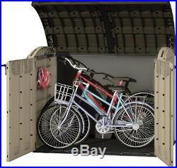 Plastic Shed Storage Box Garden Bikes