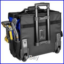 Large Rolling Mobile Travel Tool Storage Bag Case Organizer Box