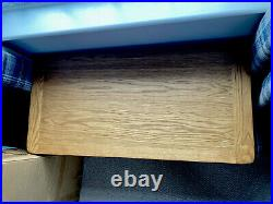 Large Solid Oak Blanket Box / Toy Storage Box / Chest
