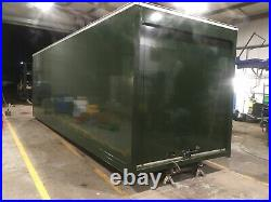 Large Storage Container Shed Lorry Box Body Dry Secure Strong Unit Field Shelter