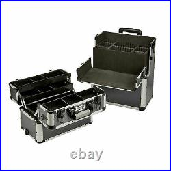 Large Tool Storage Centre Mobile Chest Aluminium Organizer Heavy Duty Case Box