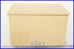 Large Unfinished MDF Shoe Storage Box Sealed Top Hand Made Quality 84x53x62cm
