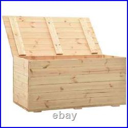 Large Wooden Storage Box Chest Trunk Organizer with Lid Toys Blanket Box Chest