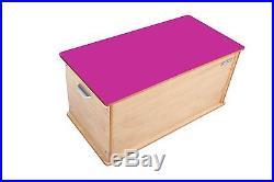 Little Helper 90 X 46 X 43.5 Cm Large Toytidy Toy Storage Box with Slow-dro