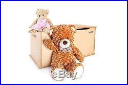 Little Helper 90 x 46 x 43.5 cm RoomTidy Toy Storage Box Large, Maple/Natural