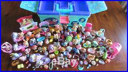 Littlest Pet Shop Mixed Lot Of Dogs Cats Horses Tackle Box & Accessories Nice